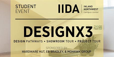 DesignX3 tickets