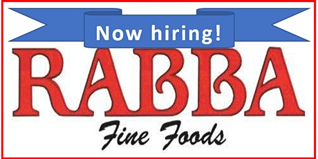 WoodGreen Employment  Services and RABBA Fine Foods -   Hiring Event tickets