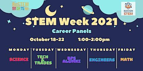STEM Week Career Panels tickets