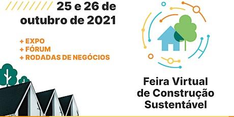 Feira Virtual de Construção Sustentável ingressos