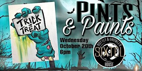 Pints & Paints at Sixtel Bottle & Growler tickets