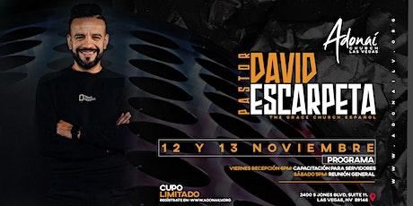 Pastor David Escarpeta tickets