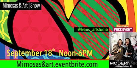 Mimosas & ART | SHOW tickets