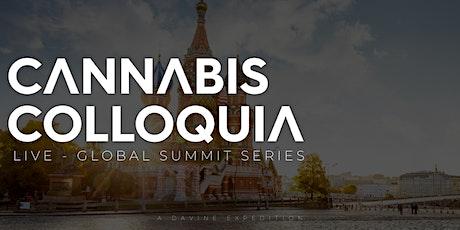 CANNABIS COLLOQUIA - Hemp - Developments In Western Asia [ONLINE] tickets