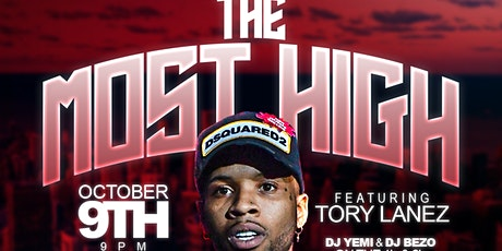 THE MOST HIGH FT. TORY LANEZ tickets
