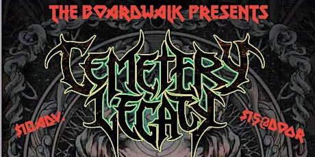 Cemetery Legacy / Blessed Curse  / Human Filth / Lurid tickets