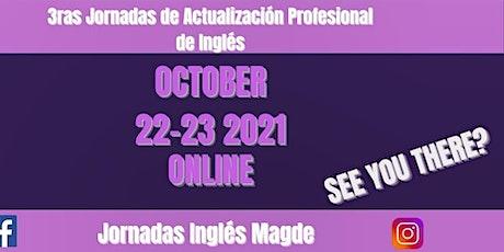 3ras Jornadas De Actualización Profesional de Ingles entradas