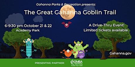The Great Gahanna Goblin Trail (Thursday, Oct 21) tickets