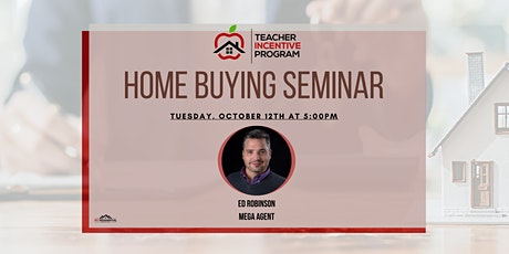FREE | Home Buying Seminar with Ed Robinson tickets