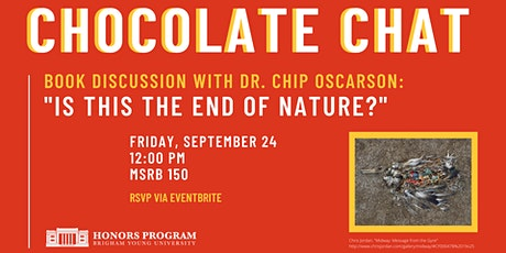 Chocolate Chat- Chip Oscarson tickets