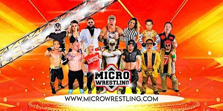 Micro Wrestling Returns to Oak Ridge, TN! tickets