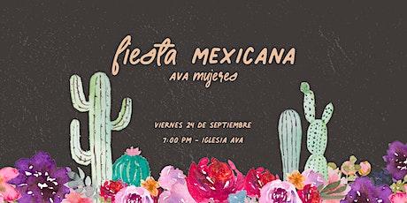 AVA Mujeres Reunión Presencial   7:00 PM entradas