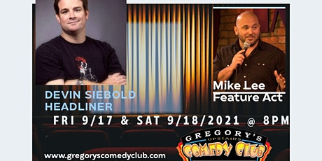 Gregory's Upstairs Comedy Room Friday Show @8pm tickets