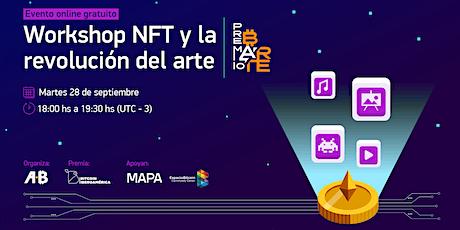 Workshop gratuito: NFT y la revolución del arte tickets