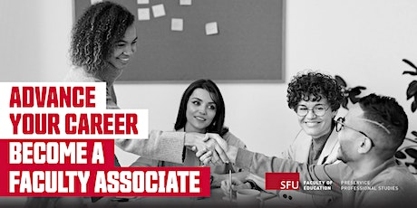Information Session: Becoming a SFU Faculty Associate - October 2, 2021 tickets