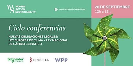 2da Conferencia WAS Cambio Climático: Nuevas obligaciones legales entradas