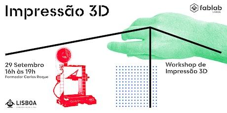 Iniciação à Impressão 3D tickets