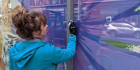Creative Window Mural Workshop - Paint Days tickets