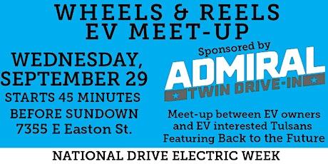 Wheels & Reels Electric Vehicle Meet-Up tickets