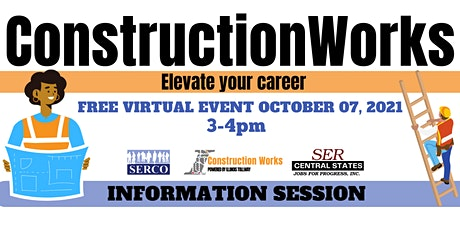 ConstructionWorks Information Session tickets