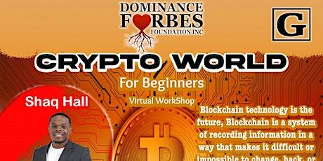 "Dff inc ""Crypto World"" tickets"