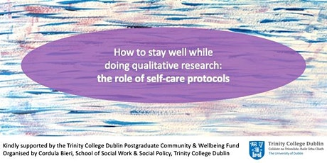 Lunchtime Series: How to stay well while doing qualitative research tickets