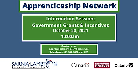 Grants & Incentives for Hiring Apprentices - Information Session tickets