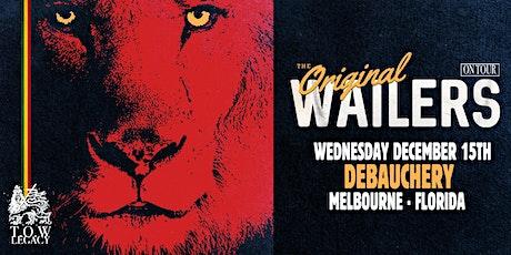 THE ORIGINAL WAILERS - Melbourne tickets