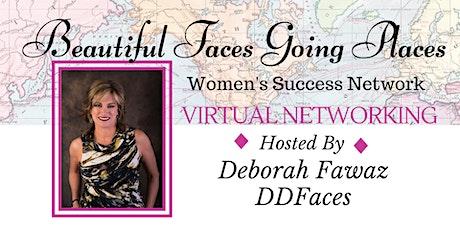 Virtual Networking on Zoom - Hosted by, Deborah Fawaz tickets