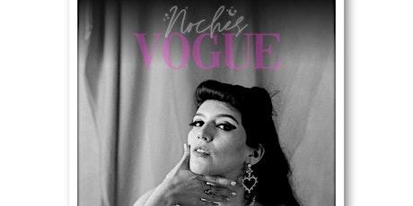 Noches Vogue entradas