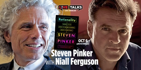 Steven Pinker with Niall Ferguson (Virtual Event) tickets