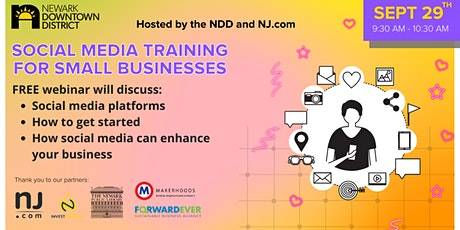 Social Media Training for Small Businesses tickets