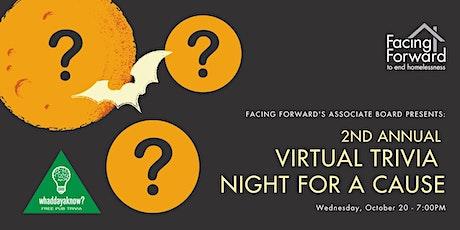 Facing Forward Associate Board's Virtual Trivia Night For A Cause tickets