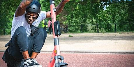 Teste die E-Scooter von Voi und sicher dir Freiminuten und einen Helm Tickets