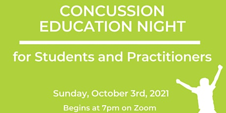 Practitioner and Student Concussion Education Night tickets