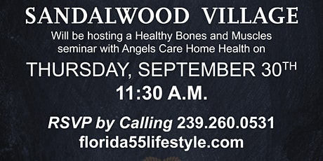 Healthy Bones and Muscles Seminar tickets