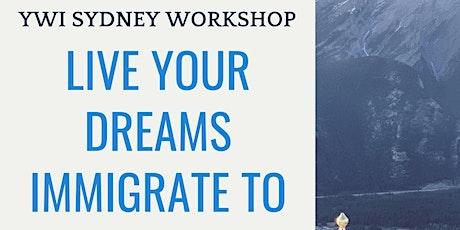 YWI Sydney Immigration&Visa Workshop tickets