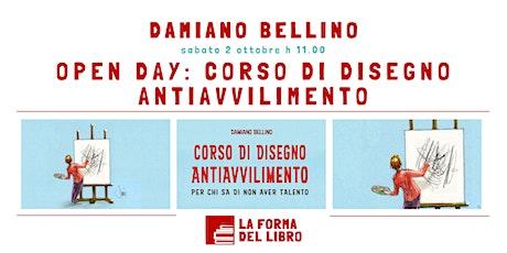 OPEN DAY: CORSO DI DISEGNO ANTIAVVILIMENTO biglietti