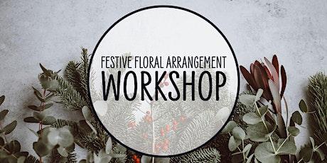 Festive Floral Arrangement Workshop tickets