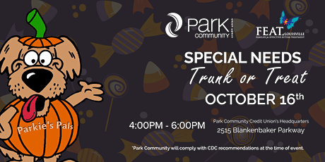 Park Community Credit Union & FEAT of Louisville Trunk or Treat tickets