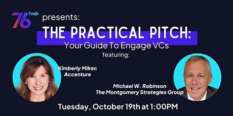 76 Forward Presents: The Practical Pitch: Your Guide to Engage VCs tickets