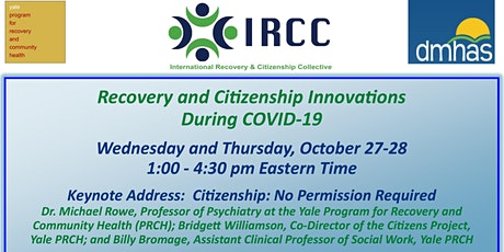 Recovery and Citizenship Innovations During Covid-19 tickets
