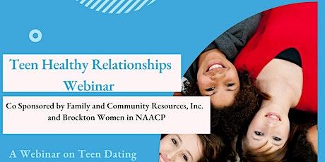 Teen Healthy Relationships Webinar tickets