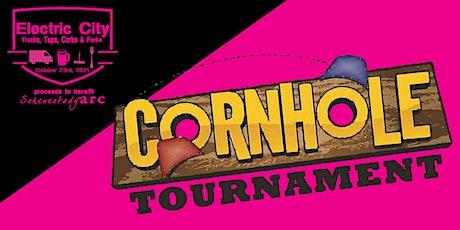 """Electric City Trucks, Taps, Corks & Forks"" Cornhole Tournament tickets"