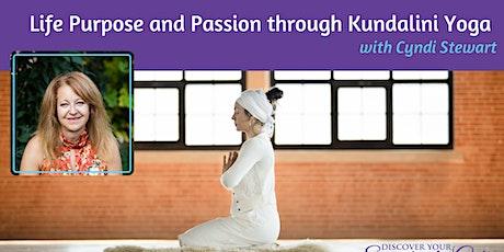 Life Purpose and Passion through Kundalini Yoga tickets