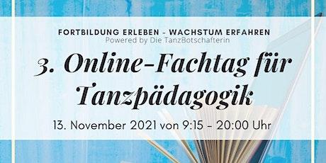 3. Online-Fachtag für Tanzpädagogik Tickets