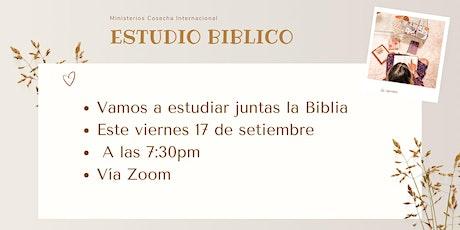 #CosechaMujer | Grupo de Conexión - Estudio Bíblico | 7:30pm bilhetes