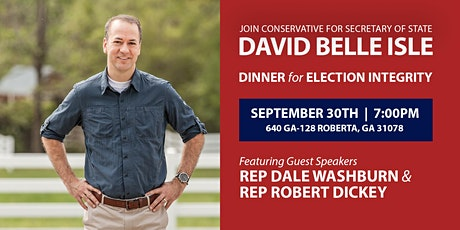 Dinner with David Belle Isle tickets