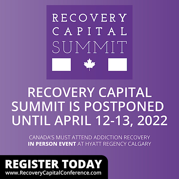 Canada's Recovery Capital Summit 2022 image
