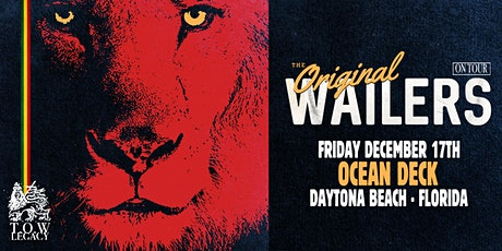 THE ORIGINAL WAILERS w/ Brothers Within - Daytona Beach (Direct Oceanfront) tickets